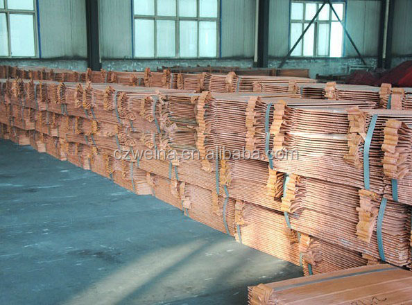LME registered electrolytic copper cathode widely used in light industry