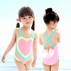 b94ccb3258456 unique nice cute best sweet heart kids girls swimming suit bikini children  bathing costume