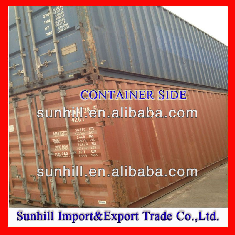 40 Marine Shipping Container with CSC Approval Plate
