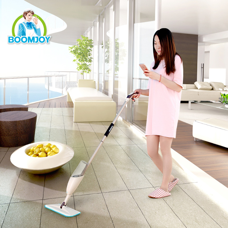 Boomjoy Houseware Fabrikproduktion 360 Magic Swivel Super Reinigungsspray Mop