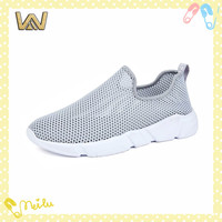 comfortable breathable athletic slip on running shoes
