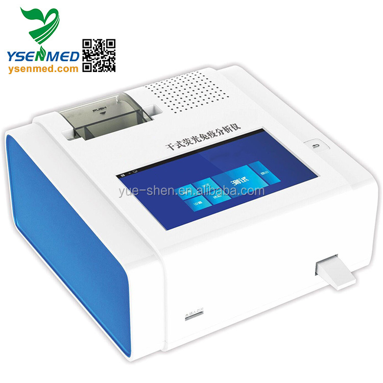 YSTE-FIA01 Hospital Dry-Type Fluoroimmunoassay Quantitative Analyzer PCR Price