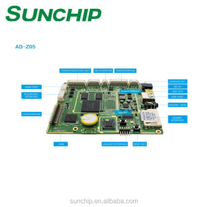 In Stock Rockchip RK3188 development ARM board advertising main board with  LVDS EDP Display digital signage Model AD-Z05