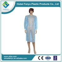 disposable non woven white doctor lab coat
