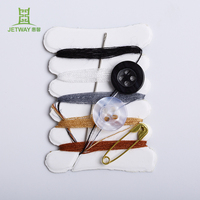 Portable hotel mini travel sewing kit for needlework