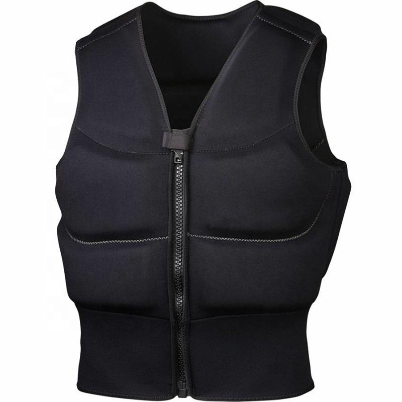 custom portable neoprene life vest jacket fishing life jacket