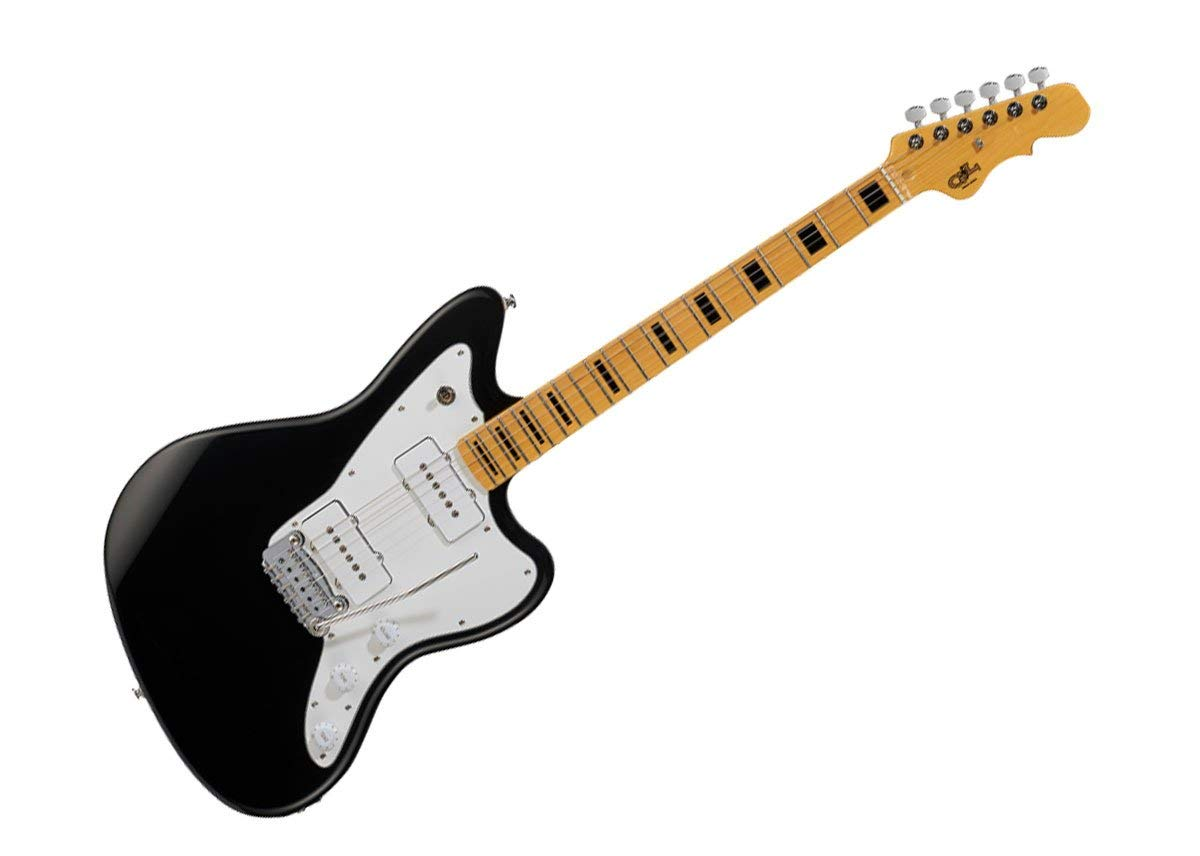 G&L Tribute Series Doheny Electric Guitar - Jet Black/Maple - TI-DOH-113R01M13