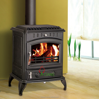 Wood burning cast iron stove for sale