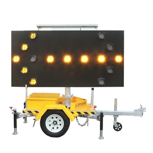 Attenuator Vehicle and Truck Mounted Indicator Light Arrow Sign Boards, Outdoor Safety Mount LED Arrow Direction