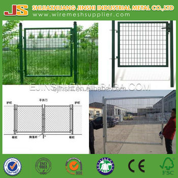 Metal powder coated garden gate for sale(factory)
