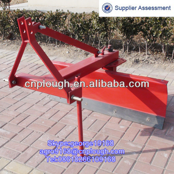 Agricultural 3 point tractor land leveling machine
