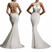 2019 new backless Mermaid Long Evening Dress off shoulder sexy design in stock 185652