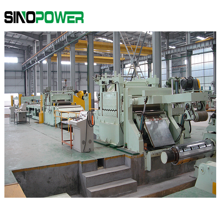 stainless steel sheet cutting machine for production sheet and plate