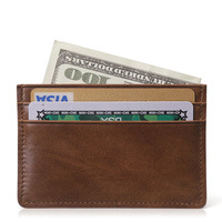Man real leather wallet manufacture