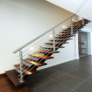 Merveilleux Single Stringer Designs Of Stairs Inside House