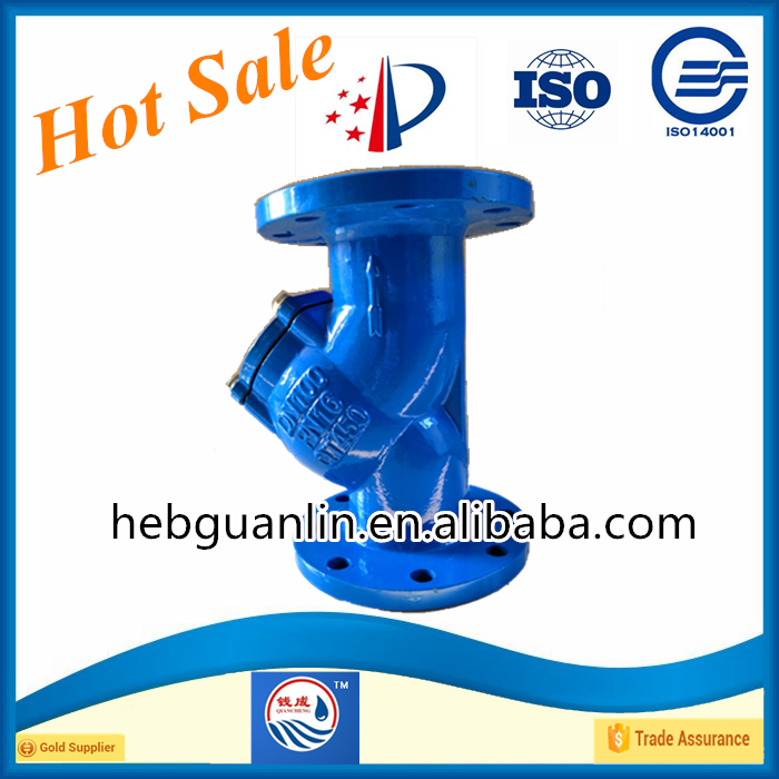 High Quality Casting Steel Y Pattern Water Strainer Globe Valve DN100