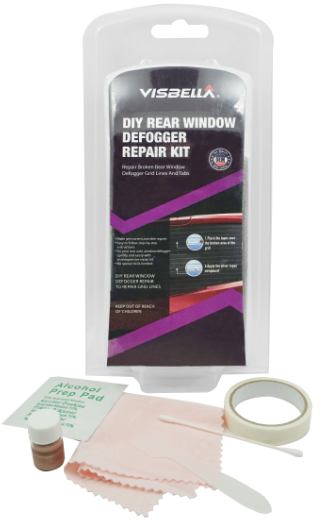 Electrically Conductive Rear Window Defogger Tab Adhesive REPAIR