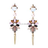 ER4774 Jingmei Fashion Stone Jewellery Wholesale from China Indian Jewelry