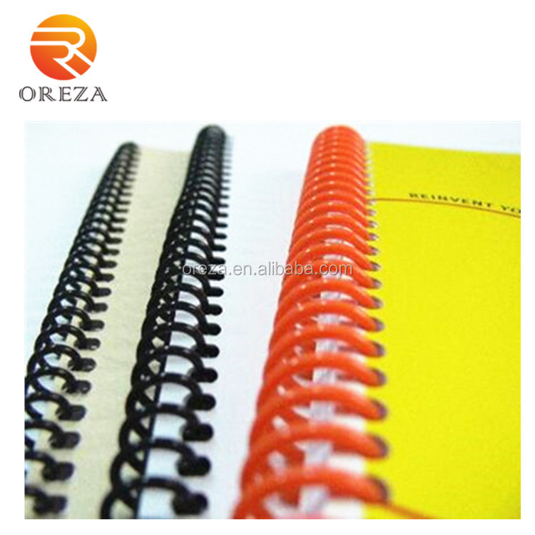Factory PVC Plastic Spiral Wire For Book Binding