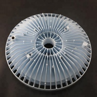 customize magnesium led lamp parts led heat sink and housing