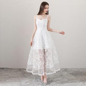 Vestidos fiesta white