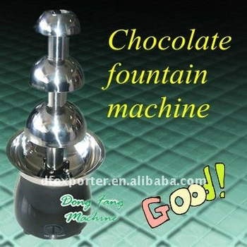 Hot Sale Beautiful Chocolate Fountain Machine Industrical Snack