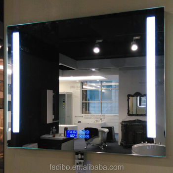 Bluetooth Clock Bathroom Mirror Radio