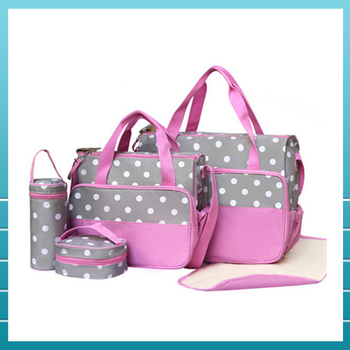 f3cf3ed7f55f08 Hot Sale Baby Products Cute Polyester Baby Diaper Bag For Adult ...
