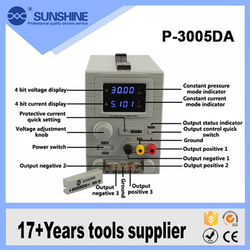 30v 5a Sunshine P-3005da Most Professional Manufactures Variable Voltage Dc  Power Supply - Buy 30v 5a Variable Dc Power Supply,Ac Dc Power