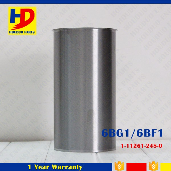 Top Quality 6BF1 Cylinder Liner Engine Part No 1-11261-248-0