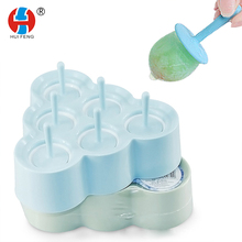 Produttore all'ingrosso <span class=keywords><strong>Estate</strong></span> Tempo Scatola del Popsicle Ice Cream Mould 6 Fori Un Tiro Cup