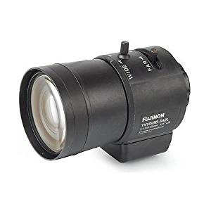 FUJINON Varifocal 5 to 50mm f/1.3 Lens with DC Auto Iris, for 1/3 and 1/4-Inch CCD Industrial Cameras with CS-Mount / YV10x5B-SA2L /