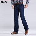 Free Shipping High Quality New Arrival Men s Jeans Slim Bell bottom Boot Cut Pants Male