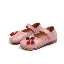 Großhandel Kirsche Blume Kinder Prinzessin <span class=keywords><strong>Oxford</strong></span> <span class=keywords><strong>Mädchen</strong></span> Flach Mode Schuhe