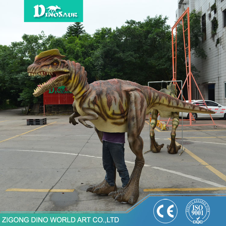 Top quality modern waterproof material Halloween costumes hot sale realistic animatronic dinosaur costume