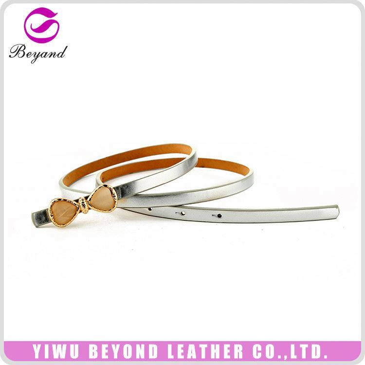 Newest sale fashion waist pu leather belt women