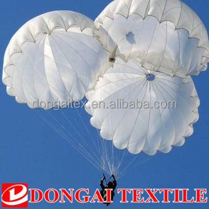 white ripstop waterproof parachute silk fabric for sale