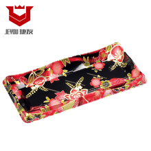 colour Printed Vacuum Disposable sushi plastic tray food Jieyou