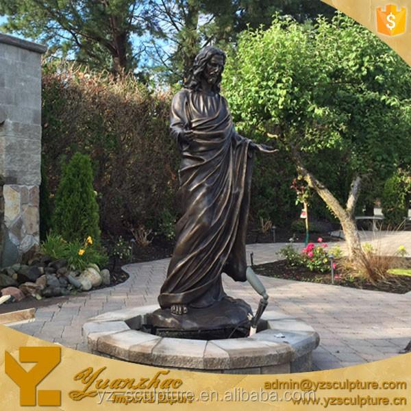 jardn bronce religiosa jess estatuas para la venta