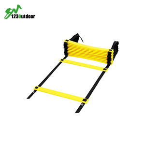 Sports Football Soccer Agility Training Products Adjustable Speed Agility Ladder