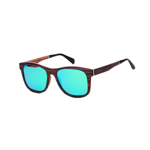 customize polaroid film Full wooden sunglasses with acetate spring temples sunglasses