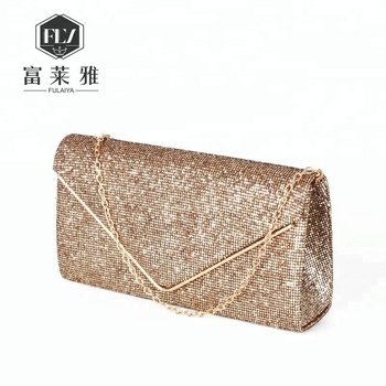 Evening Diamond Clutch Purses For Party