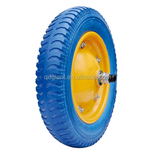 pu wheelbarrow wheel / tire 3.25-8 for brazil market