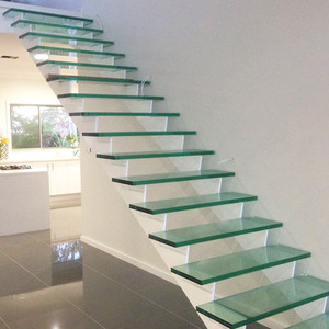 Gl Floating Stairs Supplieranufacturers At Alibaba