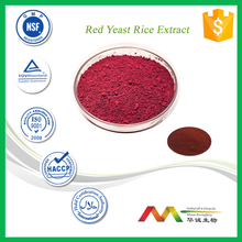 ISO&GMP Factory Supply Natural Red Yeast Rice Extract