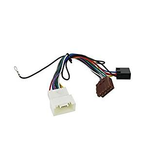 Wiring Harness Adapter for Mitsubishi Pajero 2007- ISO stereo plug adaptor