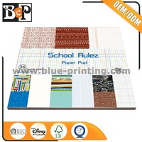 Designs pattern paper pad pack offset printing company