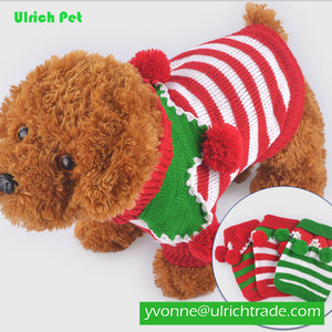 Pet Warm Clothes Colorful Christmas Pet Sweater Dog Sweaters