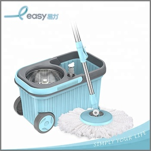 Excellent quality housewares rotating cleaning mop with bucket