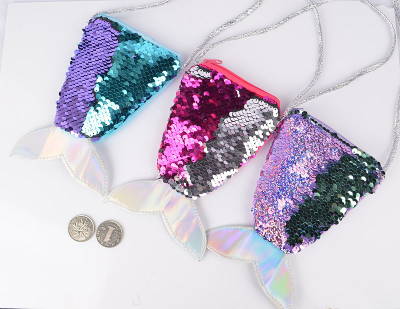Reversible Glitter Bag Mermaid Cute Outdoor Beach Hiking